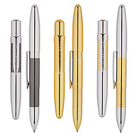 Upscale ballpoint pen group for print catalog and web marketing