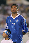 El Salvador's Ronald Cerritos on Tuesday, March 27th, 2007 at SAS Stadium in Cary, North Carolina. The Honduras Men's National Team defeated El Salvador 2-0 in a men's international friendly.