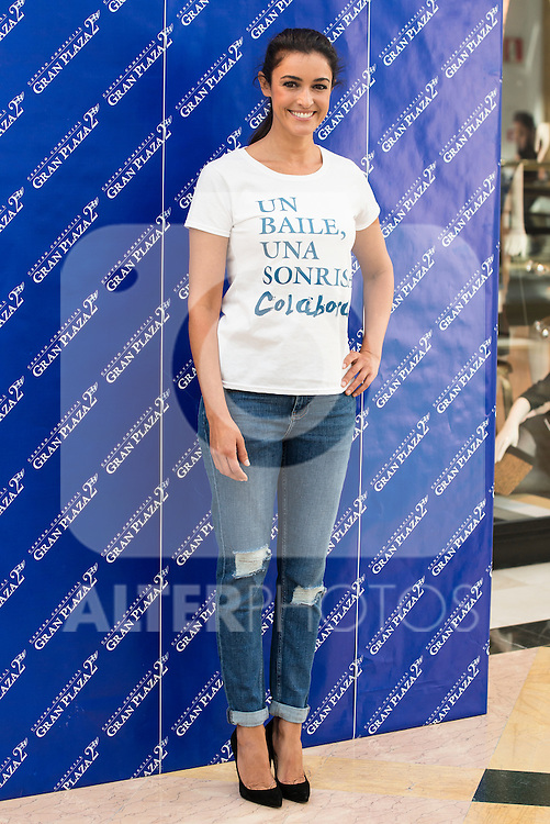 Actress Blanca Romero is the godmother in the caring action of Gran Plaza 2 Mall for UNICEF.<br /> (ALTERPHOTOS/BorjaB.Hojas)