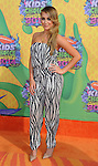 Alexa Vega arriving at the 'Nickelodeon's 27th Kids Choice Awards' held at USC Galen Center, Los Angeles, CA. March 29, 2014.