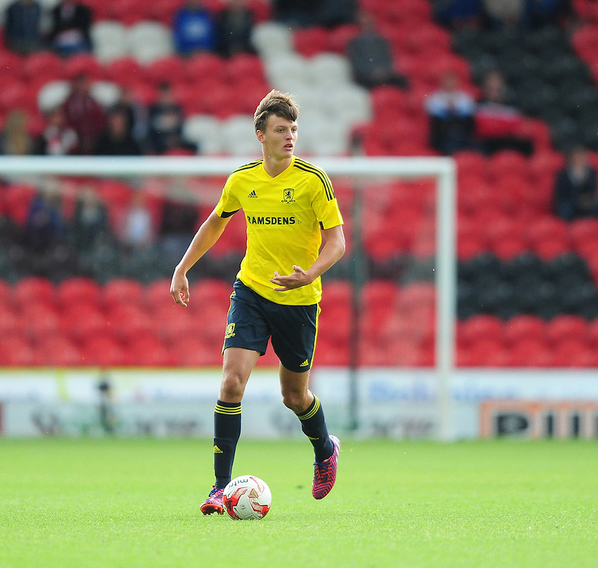 Middlesbrough&rsquo;s Dael Frey<br /> <br /> Photographer Chris Vaughan/CameraSport<br /> <br /> Football - Pre-Season Friendly - Doncaster Rovers v Middlesbrough - Saturday 25th July 2015 - Keepmoat Stadium, Doncaster<br /> <br /> &copy; CameraSport - 43 Linden Ave. Countesthorpe. Leicester. England. LE8 5PG - Tel: +44 (0) 116 277 4147 - admin@camerasport.com - www.camerasport.com