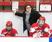 Katie Lachapelle (BU - Assistant Coach) - The Harvard University Crimson defeated the visiting Boston University Terriers 3-1 on Friday, November 22, 2013, at Bright-Landry Hockey Center in Cambridge, Massachusetts.