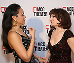 "Karen Olivo and Beth Leavel attends MCC Theater presents ""Miscast 2019"" at The Hammerstein Ballroom on April 1, 2019 in New York City."