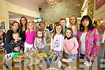 Left to right, Moss Hughes, Alice O'Connor, Ella Grady, Milly Hughes, Myra Hughes, Marian O'Connor, Julie O'Connor, Nora O'Connor, Evan Grady, Kate O'Connor and Joan Grady enjoying the 25th Anniversary Crag Caves Fun Day in Castleisland on Sunday