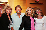 "Guiding Light actor Grant Aleksander and his wife Sherry Ramsey (Loving) and Jill Lorie Hurst (GL head writer) came to see Tina Sloan as she stars in Changing Shoes - ""a one-woman show, about the beautiful, life changing and sometimes difficult discoveries we make when we least expect them. Tina Sloan, a successful actress, mother, wife and friend has a chance encounter one night with an old pair of shoes, sending her on a journey she never planned to take. Join Tina as she searches for the answers to life's ultimate questions in the bottom of her closet and finds reasons to celebrate rather than to give up as she ages. Clips of 26 years on Guiding Light and in movies she has done add to the show's humor and sadness."" on August 17, 2009 at the Cape May Stage, Cape May, New Jersey. Tina and Joe Plummer wrote the show and Joe also is the director of the show. The Artistic Director of the Cape May Stage is Roy Steinberg (R) who was a director and producer of Guiding Light and Another World - ALSO an actor Dr. Longo on Another World. (Photo by Sue Coflin/Max Photos)"