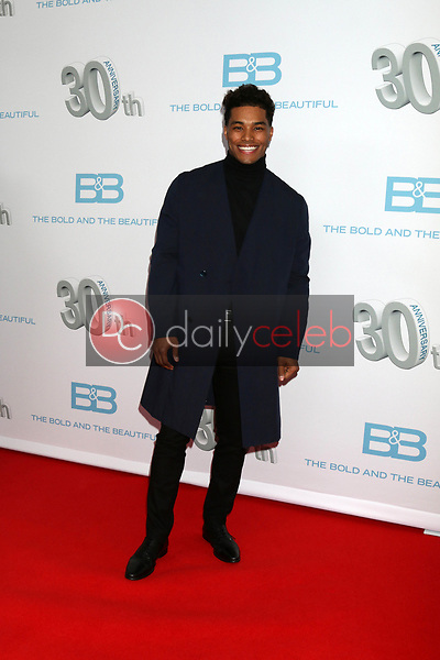 """Rome Flynn<br /> at the """"The Bold and The Beautiful"""" 30th Anniversary Party, Clifton's Downtown, Los Angeles, CA 03-18-17<br /> David Edwards/DailyCeleb.com 818-249-4998"""
