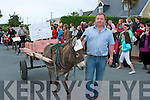 FESTIVAL PARADE: The large crowd waiting for the parade to pass on Sunday at the Castlegregory Summer Festival.