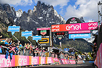 Esteban Chaves (COL) Mitchelton-Scott wins solo Stage 19 of the 2019 Giro d'Italia, running 151km from Treviso to San Martino di Castrozza, Italy. 31st May 2019<br /> Picture: Gian Mattia D'Alberto/LaPresse | Cyclefile<br /> <br /> All photos usage must carry mandatory copyright credit (© Cyclefile | Gian Mattia D'Alberto/LaPresse)