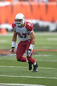 SEAN MORREY, of the Arizona Cardinals, in action during their game against the Cincinnati Bengals on November 18, 2007 in Cincinnati, Ohio...Cardinals win 35-27..SportPics