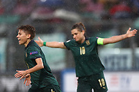 Manuela Giugliano of Italy celebrates with team mates after scoring a goal<br /> Castel di Sangro 12-11-2019 Stadio Teofolo Patini <br /> Football UEFA Women's EURO 2021 <br /> Qualifying round - Group B <br /> Italy - Malta<br /> Photo Cesare Purini / Insidefoto