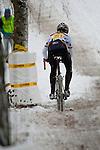 BORNHEIMER HANG - FRANKFURT AM MAIN - DEZEMBER 09: Rennen der Frauen Elite und der Juniorinnen U19 beim 38. Frankfurter Rad-Cross am Bornheimer Hang am 9. Dezember 2012 in Frankfurt am Main, Deutschland. (Photo by Dirk Markgraf)
