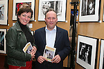 Ruth Kelly and Frank Condra at the Launch of the Drogheda Photographic Club's Annual Exhibition in Drogheda Library, Stockwell Street...Photo NEWSFILE/Jenny Matthews.(Photo credit should read Jenny Matthews/NEWSFILE)....This Picture has been sent you under the condtions enclosed by:.Newsfile Ltd..The Studio,.Millmount Abbey,.Drogheda,.Co Meath..Ireland..Tel: +353(0)41-9871240.Fax: +353(0)41-9871260.GSM: +353(0)86-2500958.email: pictures@newsfile.ie.www.newsfile.ie.FTP: 193.120.102.198.