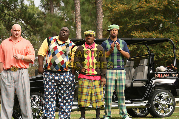 Who's Your Caddy? (2007) <br /> Chase Tatum, Faizon Love, Big Boi and Finesse Mitchell<br /> *Filmstill - Editorial Use Only*<br /> CAP/KFS<br /> Image supplied by Capital Pictures