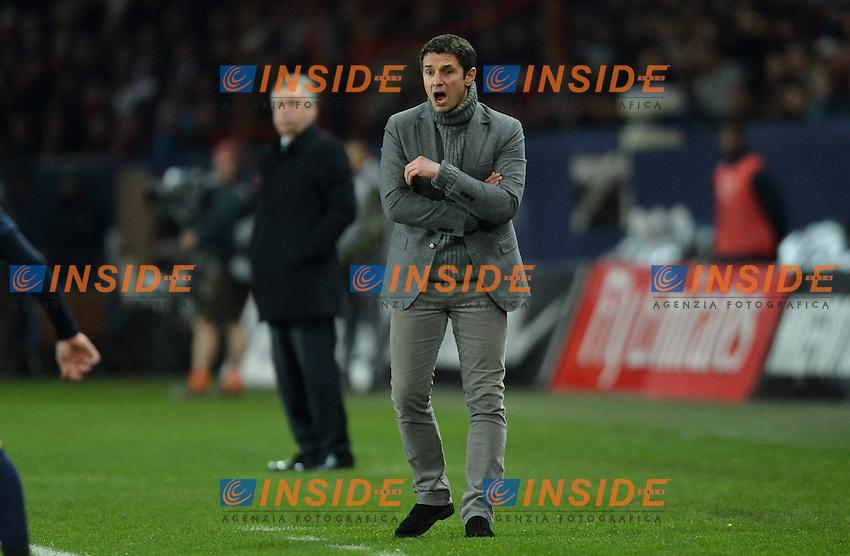 Remi Garde - Entraineur Lyon  .Football Calcio 2012/2013.Ligue 1 Francia.Foto Panoramic / Insidefoto .ITALY ONLY