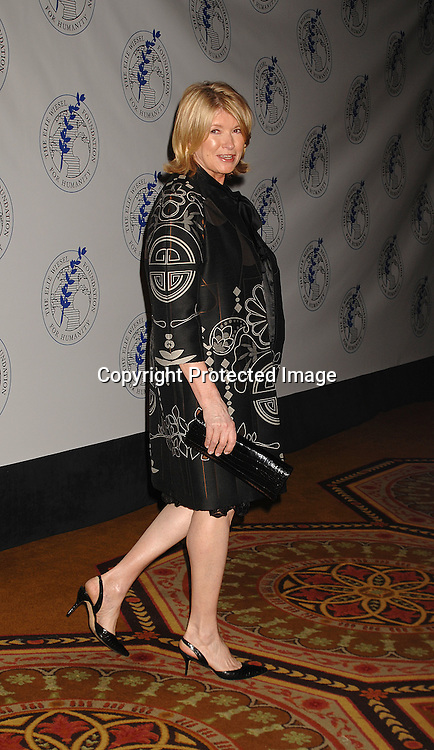 Martha Stewart..posing for photos at The Elie Wiesel Foundation for Humanity Award Dinner honoring Oprah Winfrey on ..May 20, 2007 at The Waldorf Astoria Hotel. ..Robin Platzer, Twin Images........212-935-0770