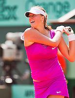 02-06-12, France, Paris, Tennis, Roland Garros, Petra Kvitova
