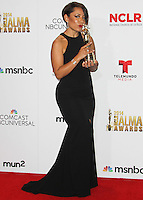 PASADENA, CA, USA - OCTOBER 10: Selenis Leyva poses in the press room at the 2014 NCLR ALMA Awards held at the Pasadena Civic Auditorium on October 10, 2014 in Pasadena, California, United States. (Photo by Celebrity Monitor)