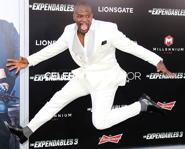 HOLLYWOOD, LOS ANGELES, CA, USA - AUGUST 11: Terry Crews at the Los Angeles Premiere Of Lionsgate Films' 'The Expendables 3' held at the TCL Chinese Theatre on August 11, 2014 in Hollywood, Los Angeles, California, United States. (Photo by Xavier Collin/Celebrity Monitor)