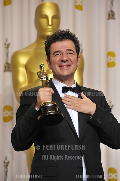 Ludovic Bource, winner for Best Original Music for The Artist, at the 82nd Academy Awards at the Hollywood & Highland Theatre, Hollywood..February 26, 2012  Los Angeles, CA.Picture: Paul Smith / Featureflash.