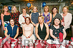 Linda O'Sullivan, Ardfert, celebrates her 30th Birthday with family and friends at Cassidy's on Saturday Pictured front l-r Kristy Novak, Linda O'Sullivan, Kathy Flynn, Irene Butler Back l-r Yvonne Quill, Norma O'Dowd, Mary O'Sullivan, Moira Horgan, Margaret Carney, Ann McGlen, Mary Donnelly