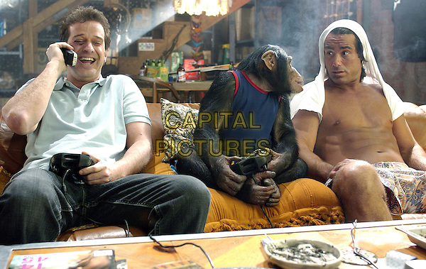 ALLEN COVERT, HARRY THE CHIMP & PETER DANTE          .in Grandma's Boy.*Editorial Use Only*.www.capitalpictures.com.sales@capitalpictures.com.Supplied by Capital Pictures.