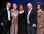 """***EXCLUSIVE COVERAGE*** Mary Tyler Moore visits the cast of """"Enter Laughing"""" at the York Theatre Company in New York City.<br />February 26, 2009<br />pictured: Josh Grisetti, Michael Tucker, Mary Tyler Moore, marla Schaffel, Bob Dishy, Jill Eikenberry"""