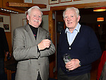 Ray and Val Campbell pictured at the Jimmy Campbell appreciation night held in Seapoint golf club. Photo:Colin Bell/pressphotos.ie