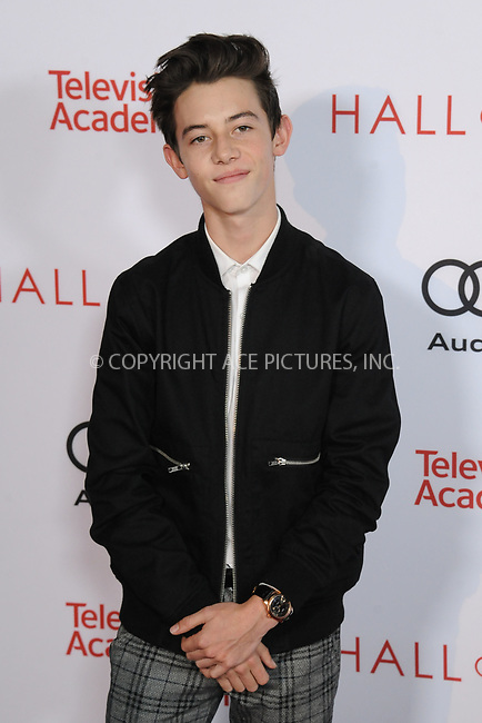 www.acepixs.com<br /> <br /> November 15 2017, LA<br /> <br /> Griffin Gluck arriving at the Television Academy's 24th Hall of Fame Ceremony at the Saban Media Center on November 15, 2017 in Los Angeles, California.<br /> <br /> By Line: Peter West/ACE Pictures<br /> <br /> <br /> ACE Pictures Inc<br /> Tel: 6467670430<br /> Email: info@acepixs.com<br /> www.acepixs.com