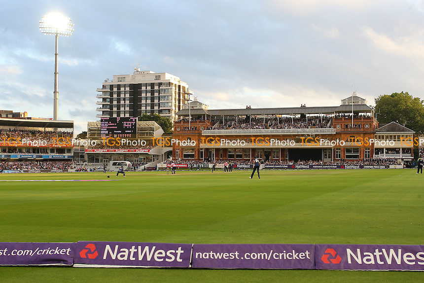 General view of the action during Middlesex vs Essex Eagles, NatWest T20 Blast Cricket at Lord's Cricket Ground on 28th July 2016