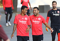 Allen Rodrigues de Souza (Eintracht Frankfurt) und Marco Fabian (Eintracht Frankfurt) - 05.09.2018: Eintracht Frankfurt Training, Commerzbank Arena, DISCLAIMER: DFL regulations prohibit any use of photographs as image sequences and/or quasi-video.