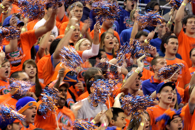 Florida Gator fans cheer during the second half of the game against No. 2 Kentucky on Tuesday, Jan. 12, 2009 at the Stephen C. O'Connell Center in Gainesville, Fla. on Tuesday, Jan. 12, 2009. The Cats defeated the Gators 89-77.