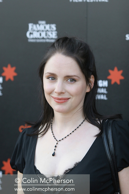 Star Laura Fraser at the premiere of The Flying Scotsman at Cineworld in Edinburgh. The film marked the opening night of this year's Edinburgh International Film Festival which runs until 27th August and features films from across the world.