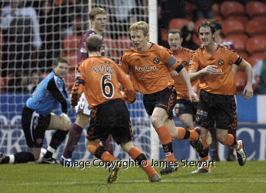 02/01/2008    Copyright Pic: James Stewart.File Name : sct_jspa05_dundee_utd_v_hearts.BARRY ROBSON SCORES CELEBRATES AFTER HE SCORES DUNDEE UNITED'S FIRST.James Stewart Photo Agency 19 Carronlea Drive, Falkirk. FK2 8DN      Vat Reg No. 607 6932 25.Office     : +44 (0)1324 570906     .Mobile   : +44 (0)7721 416997.Fax         : +44 (0)1324 570906.E-mail  :  jim@jspa.co.uk.If you require further information then contact Jim Stewart on any of the numbers above.........