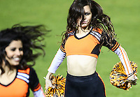 HitGirls, durante el  2do. encuentro entre Cañeros de los Mochis vs Naranjeros de Hermosillo. Segunda vuelta de la Liga Mexicana del Pacifico LMP2016. 26dic2016<br /> ©Foto: LuisGutierrrez/NortePhoto.com