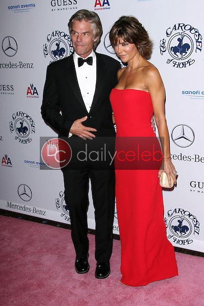 Harry Hamlin and Lisa Rinna<br />