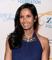 NEW YORK, NY - MAY 6, 2014: Padma Lakshmiattends the Tyra Banks'  Flawsome Ball 2014 , at Cipriani Wall Street ,May 6 , 2014 in New York City  HP/StarlitePics