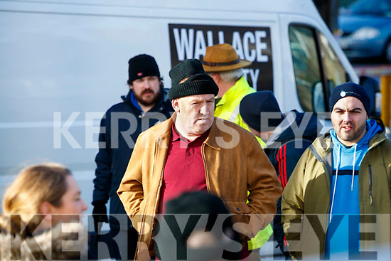 Trale eActor Tim Landers at the Abbey Leaks movie being shot last Thursday morning outside the Irish Cancer Society shop, in Tralee, as part of a three day film shoot in Kerry last week for a new short film by Tralee man, Patrick McDonnell.