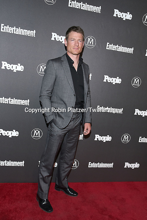 Philip Winchester attends the Entertainment Weekly &amp; PEOPLE Magazine New York Upfronts Celebration on May 16, 2016 at Cedar Lake in New York, New York, USA.<br /> <br /> photo by Robin Platzer/Twin Images<br />  <br /> phone number 212-935-0770