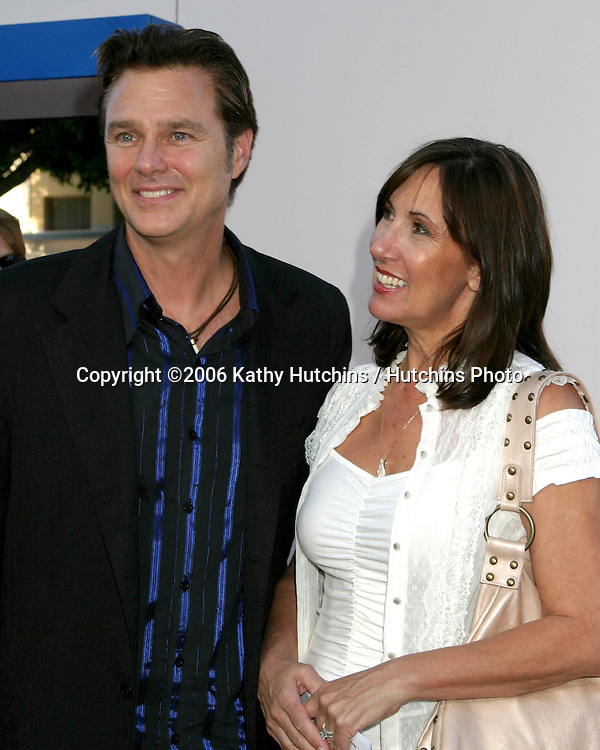 "Greg Evigan & wife.""Click"" Premiere.Mann's Village Theater.Westwood, CA.June 14, 2006.©2006 Kathy Hutchins / Hutchins Photo...."
