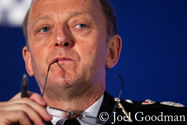 "© Joel Goodman - 07973 332324 . 22/05/2012 .  Manchester , UK . ACPO President SIR HUGH ORDE on a panel at the Association of Chief Police Officers ( ACPO ) "" Leading Change in Policing Conference "" , at the Manchester Central Convention Centre . Photo credit: Joel Goodman"