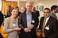 Pictured from left are Finola Brady of Finola Brady Architectural Services, Steve Goodman of Team of Equals and Gurmali Raju of Ryley Wealth Management