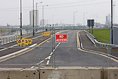 New road to Stratford International station, which also provides access to the site of the London 2012 Olympic Games.