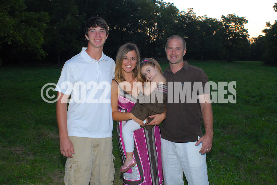 8/16/12 7:48:56 PM - Newtown, PA. -- The Anderson family is photographed August 16, 2012 in Newtown, Pennsylvania. -- (Photo by William Thomas Cain/Cain Images)... -- ...Photo by William Thomas Cain, Freelance.