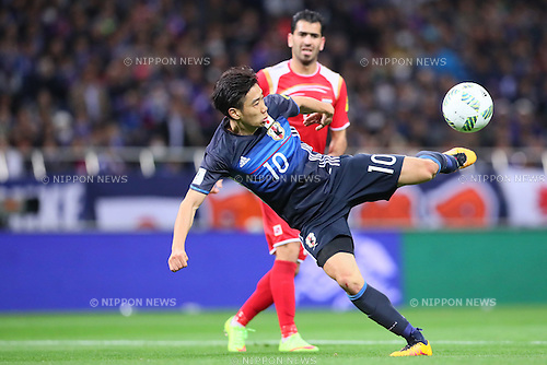 Shinji Kagawa (JPN), MARCH 29, 2016 - Football / Soccer : FIFA World Cup Russia 2018 Asian Qualifier Second Round Group E match between Japan 5-0 Syria at Saitama Stadium 2002 in Saitama, Japan. (Photo by Yohei Osada/AFLO SPORT)