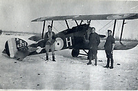 Exploits of a fearless World War One flying ace Air Vice Marshal Sir Matthew 'Bunty' Frew