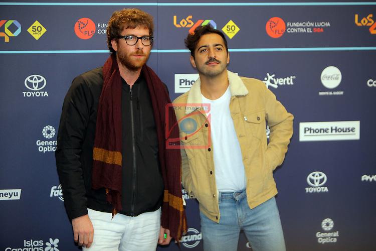 Los 40 MUSIC Awards 2016 - Photocall.<br /> Borja Rosal (Extraperlo) &amp; El Guincho.
