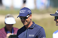 Henrik Stenson (SWE) on the 16th green during Thursday's Round 1 of the 118th U.S. Open Championship 2018, held at Shinnecock Hills Club, Southampton, New Jersey, USA. 14th June 2018.<br /> Picture: Eoin Clarke | Golffile<br /> <br /> <br /> All photos usage must carry mandatory copyright credit (&copy; Golffile | Eoin Clarke)
