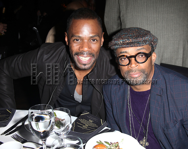 Colman Domingo & Spike Lee.attending the Woodie King Jr's NFT New Federal Theatre 40th Reunion Gala Benefit Awards Presentation in New York City.