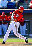 7 March 2011: Washington Nationals' outfielder Jonathan Van Every in action during a Spring Training game against the Houston Astros at Space Coast Stadium in Viera, Florida. The Nationals defeated the Astros 14-9 in Grapefruit League action. Mandatory Credit: Ed Wolfstein Photo