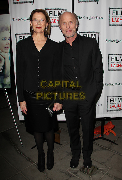Los Angeles, CA - March 3: Annette Bening, Ed Harris Attending 'The Face of Love' Premiere Screening, Held at LACMA California on March 3, 2014 <br /> CAP/MPI/MPIUPA<br /> &copy;MPIUPA/MediaPunch/Capital Pictures